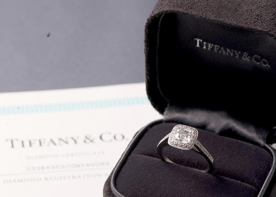 11. Tiffany Co. Diamond Ring